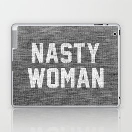 Nasty Woman - dark version Laptop & iPad Skin