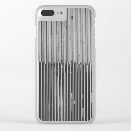 Texture Study: Metal Escalator Clear iPhone Case
