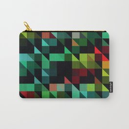 Diagonal Stripes Carry-All Pouch