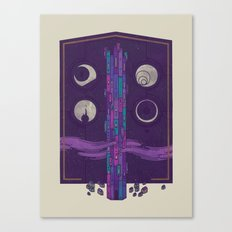 'Neath the Tower of Incomprehensible Sorcery Canvas Print
