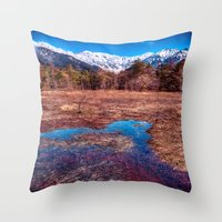rustic Throw Pillows featuring Rustic by Jonah Anderson