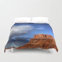 utah Duvet Covers featuring Utah Sky by Tracy Lynn Hart Photography