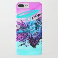 Crystal Wolf iPhone 7 Plus Slim Case