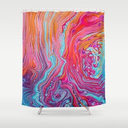 CONFLICTED Shower Curtain