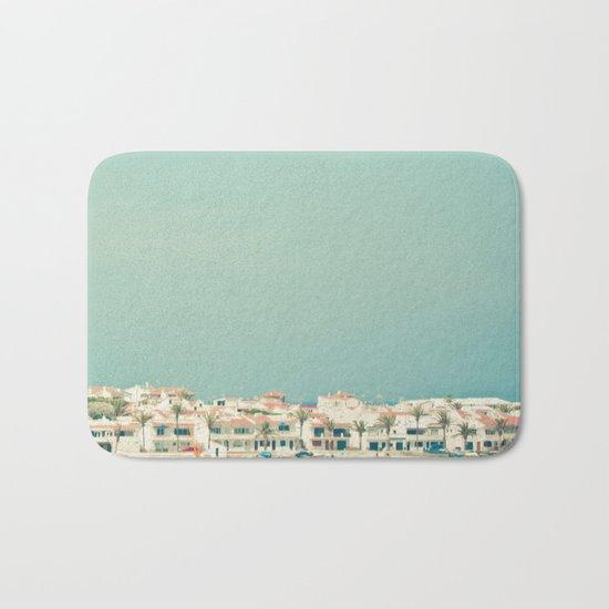 Mediterranean Skyline Bath Mat