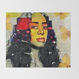 My Mona Lisa Throw Blanket