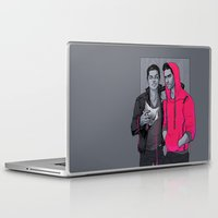 glee Laptop & iPad Skins featuring Little Red has Pointy Teeth by Daunt