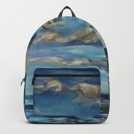 The Big Blue Backpack