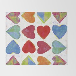 Heartstrings Throw Blanket
