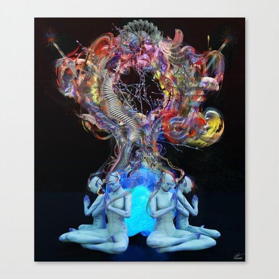 Synchromystics Canvas Print