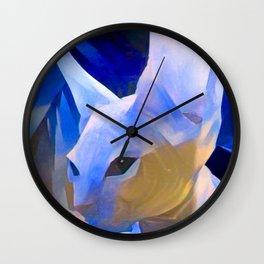 Pablo's Cat Blue Period Wall Clock