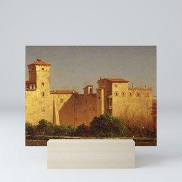 Sanford Robinson Gifford - Villa Malta, Rome Mini Art Print