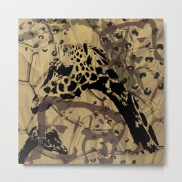 Animal print Metal Print