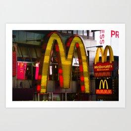 Mickey D's Art Print