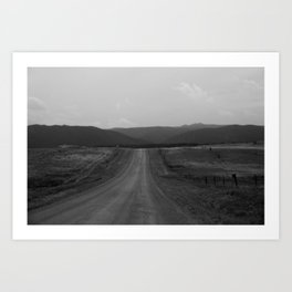 Larkspur, CO Art Print