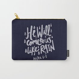 Hosea 6: 3 x Navy Carry-All Pouch