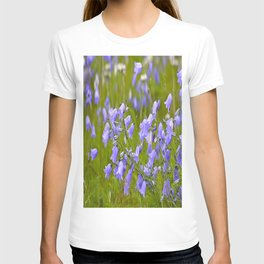Bluebells Meadow #decor #society6 T-shirt