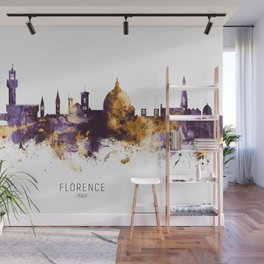 Florence Italy Skyline Wall Mural