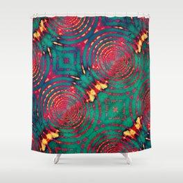 Imprints Shower Curtain
