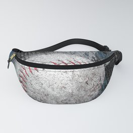 Baseball print work vs 1 Fanny Pack