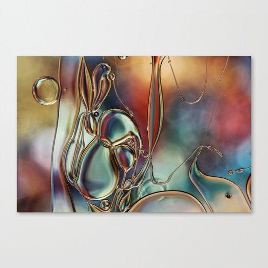 Rainbow Tangle Canvas Print
