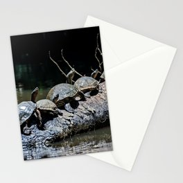 Turtles at Tortuguero NP - Costa Rica Stationery Cards