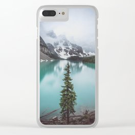 Solo Tree Clear iPhone Case
