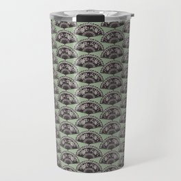 rows of Fans on mint Travel Mug