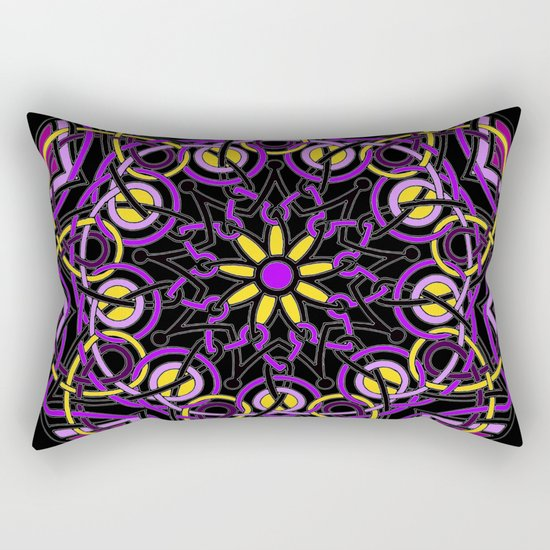 Mandhala Metamorphosis | Reiki | Meditation | Yoga Rectangular Pillow