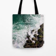 Sea and Rocks Tote Bag