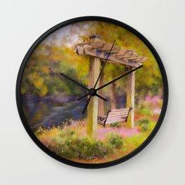 Conway River Walk Wall Clock