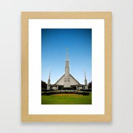 LDS Dallas Texas Temple Framed Art Print