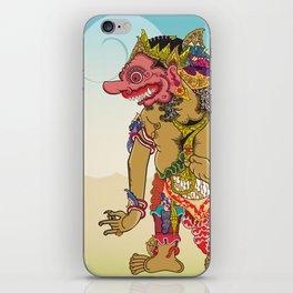 Kumbakarna character in Ramayana story iPhone Skin