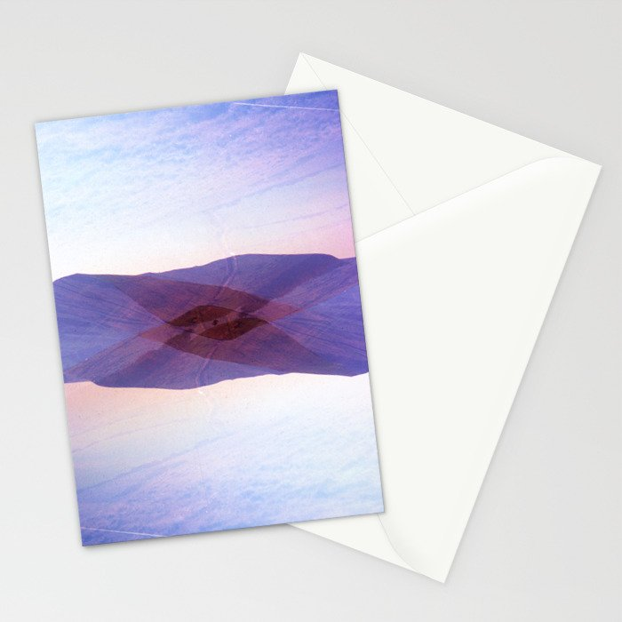 Peaked Stationery Cards