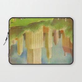 1952 Go Greyhound New York City Central Park Poster Laptop Sleeve