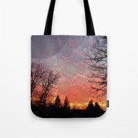 neverland Tote Bags featuring Neverland by Olivia Joy StClaire
