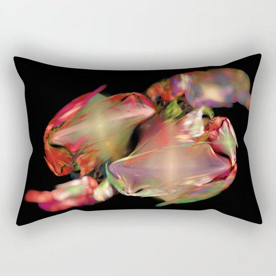 Flower Work  (A7 B0236) Rectangular Pillow