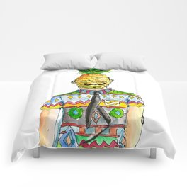 Mr. Pineapple Comforters
