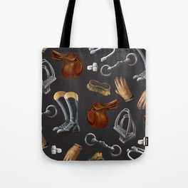 The art of Riding Tote Bag