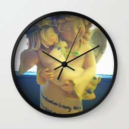 Nana's Angels Wall Clock