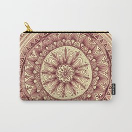 mandala: maroon Carry-All Pouch