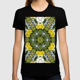 Kaleidoscope of showy St Johns Wort T-shirt