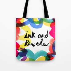 Ink & Pixels Tote Bag