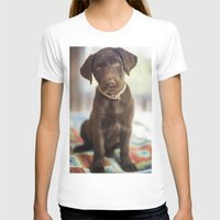 labrador T-shirts featuring Labrador Love by rusticedenphotography
