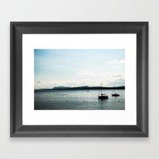 Le Lac Framed Art Print