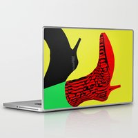 shoes Laptop & iPad Skins featuring Shoes by BUBUBABA