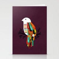 paradise Stationery Cards featuring Paradise by Picomodi