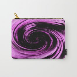 Purple and black abstract photo Carry-All Pouch