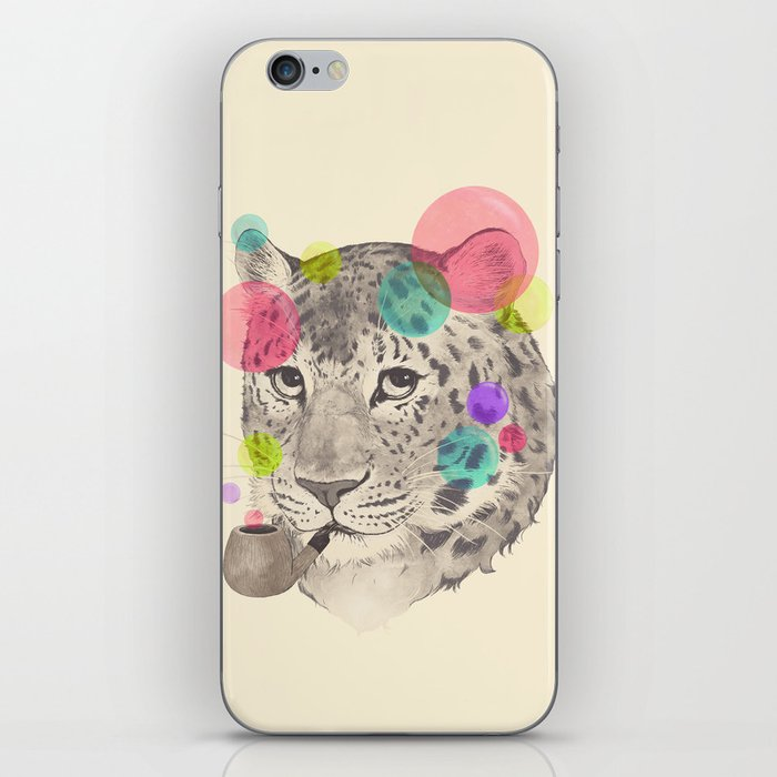 leopard changes his spots iPhone Skin