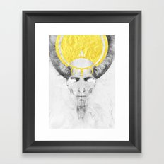 The Lamb Framed Art Print